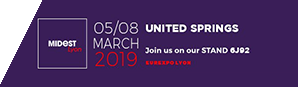 United Springs at MIDEST 2019 from March 5th to 8th Euroxpo, Lyon in France